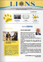 newsletter 14 avril mai 2019