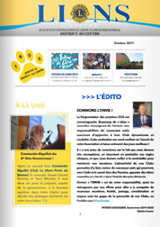 newsletter 16 octobre 2019